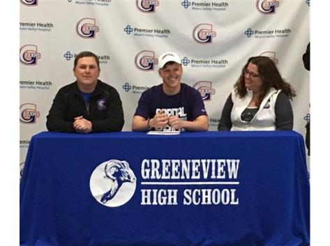 Bryce Wilson Signing Capital University April 1, 2017