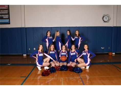 HS Basketball Cheer 2017 2018
