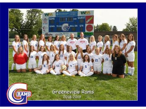 Girls Soccer Fall 2018
