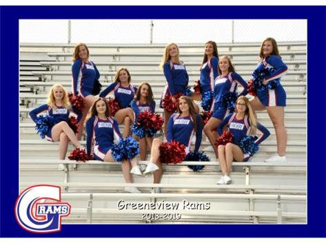 High School Football Cheerleading Fall 2018