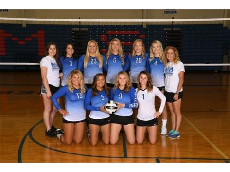High School Varsity Volleyball Fall 2018