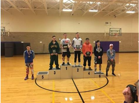 Devan Hendricks 7th place 2018 Coaches Classic