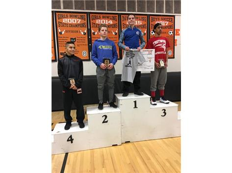 Teagan Hendricks 1st at Beavercreek Inv Jan 2019