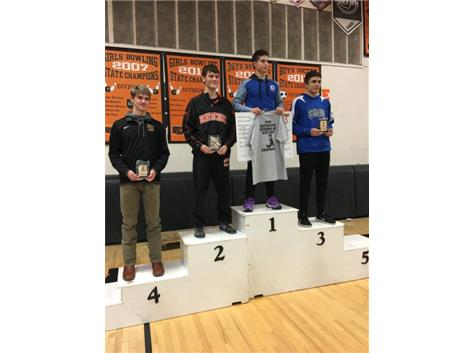 Devan Hendricks 1st at Beavercreek Inv Jan 2019