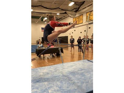 Elizabeth Valentine 1st Place - Vault - 4th all Around