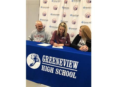 Ashley Schloss signing to University of Northwestern Ohio