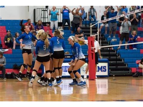 HS Volleyball Action 2018