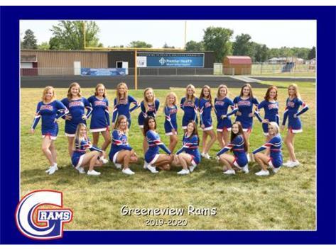 HS Football Cheerleading Fall 2019
