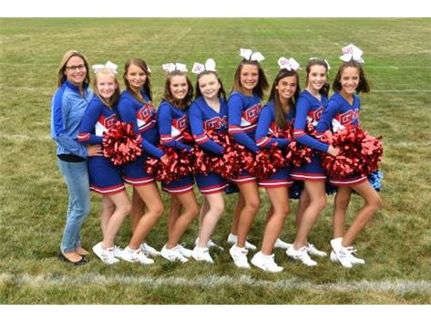 MS Football Cheerleading Fall 2019