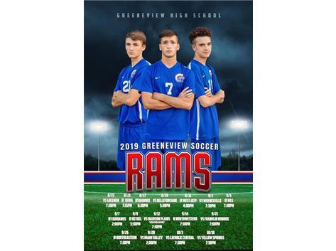 HS Boys Soccer Senior Calendar 2019