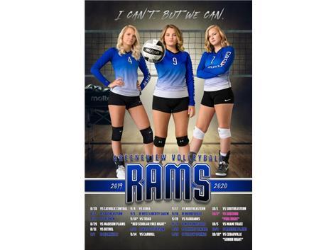 HS Volleyball Senior Calendar 2019