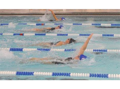 Emma Snyder 1st in 100 Backstroke at Xenia Meet