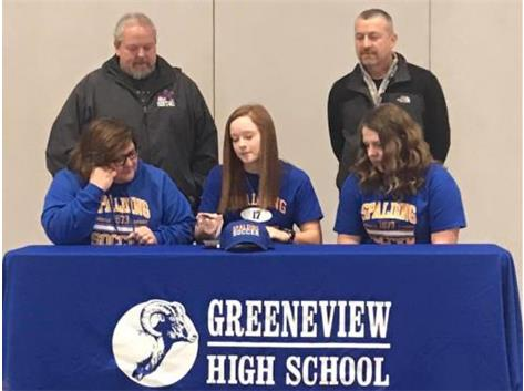 Congratulations to Faith Rutherford and family on her signing to play soccer at Spalding University in Kentucky starting Fall 2020.