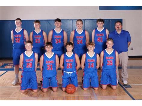 8th Boys Basketball 2020 2021