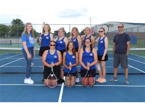High School Girls Tennis Fall 2021