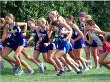 Amanda is off to a strong start in the lead pack