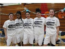 Sr Night Girls Basketball