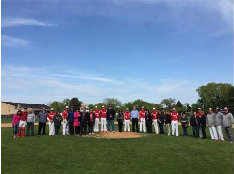 Baseball Senior Day