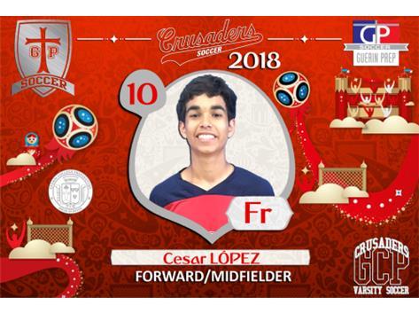 10 - Cesar Lopez