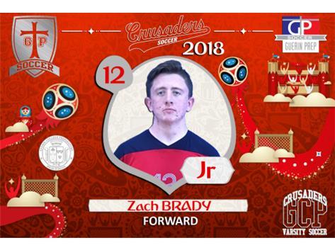 12 - Zach Brady