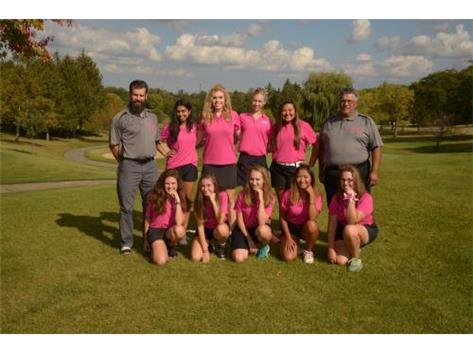 2017-2018 RPS205 Girls Golf Team