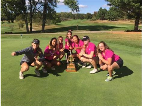 RPS205 Girls Golf NIC 10 Champs