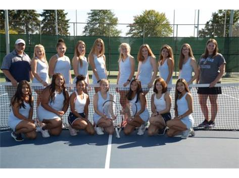 2018-2019 Girls Varsity Tennis Team