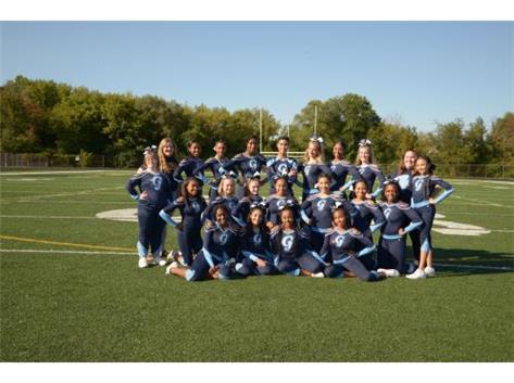 2018-2019 Girls JV Cheerleading Team
