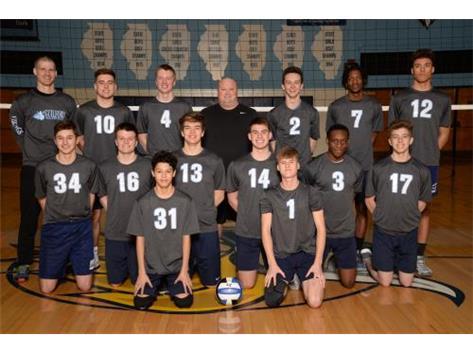 2018-2019 Boys Varsity Volleyball Team