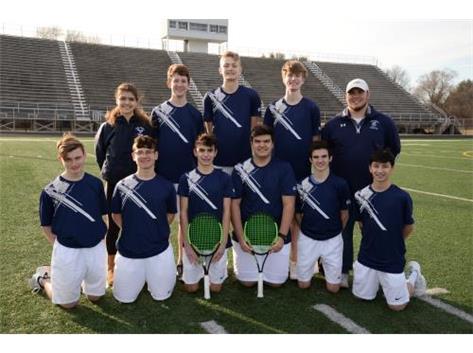 2018-2019 Boys Varsity Tennis Team