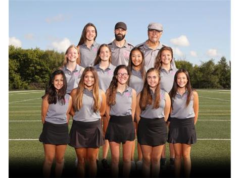 20-21 Girls Golf Team Photo