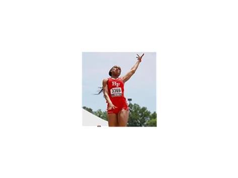 Jaimie Robinson sets a new IHSA 3A Triple Jump record!