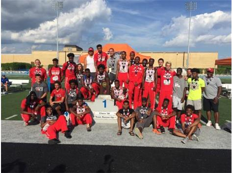 Boys Track & Field took home a 2nd place finish at the 2018 State Finals