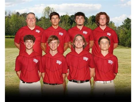 JV Boys Golf 20-21