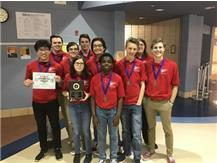 18-19 Scholastic Bowl takes 1st at Crete-Monee HS in the Masonic Class 3A Sectional Championship