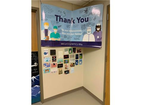 Thank You Cards to Hospital Workers