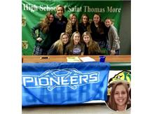 Haley Elam Commits to play volleyball with the Wisconsin - Platville Pioneers