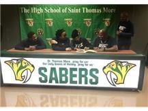 NaKaya Hughes signs to play basketball at the University of Illinois - Springfield