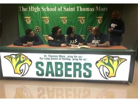 NaKaya Hughes signs to play basketball at the University of Illinois - Springfield