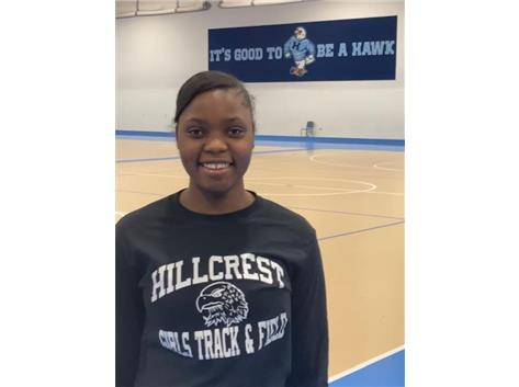 Senior Gloria Agblami is undecided on which school she will attend in the Fall of 2021.