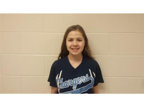 Paige Biesterfeld, Sophomore, #3