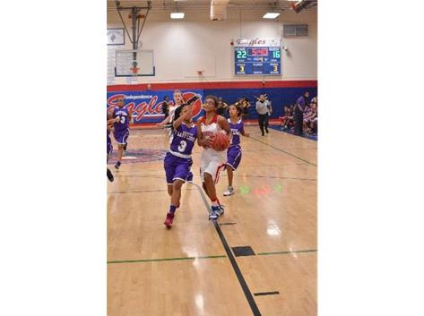 Independence Middle School Girls Basketball Activities
