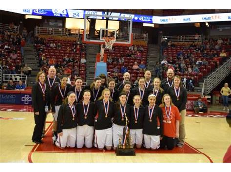 Girls Basketball - 2016 IHSA 3rd Place