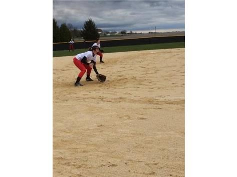 Softball vs. LaMoille