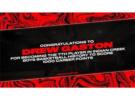 Drew Gaston - 1000 Points