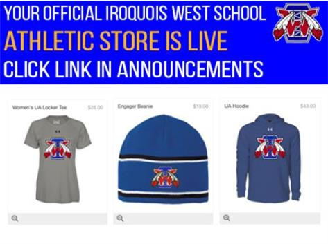 New Iroquois Apparel Store is Live!