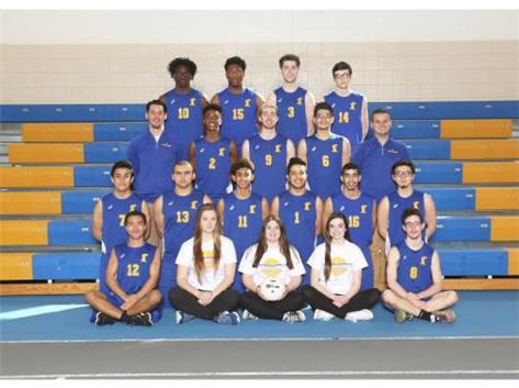 2017 Joliet Central Varsity Boys Volleyball