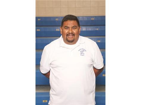 Varsity Coach Eduardo Contreras