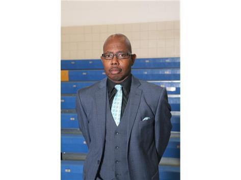 Varsity Coach Larry Thompson