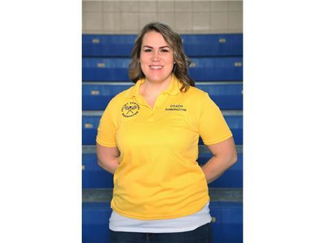 Freshman Coach Jen Dobersztyn